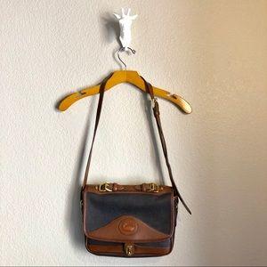 Vintage Dooney and Bourke Carrier Shoulder Bag AWL